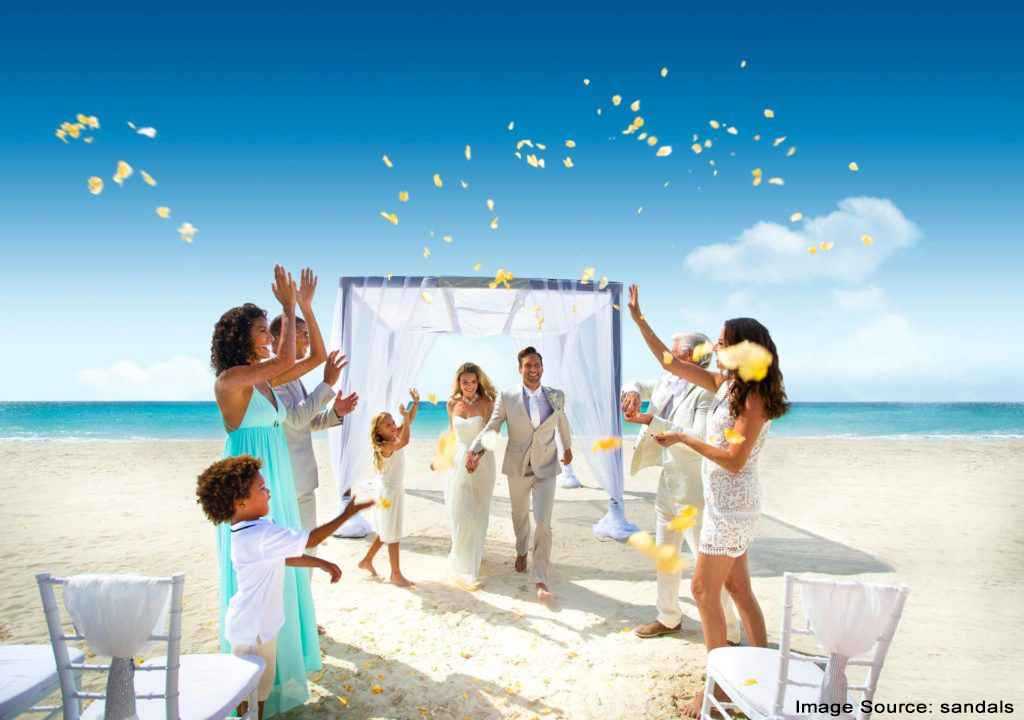 Bahamas beach wedding destination