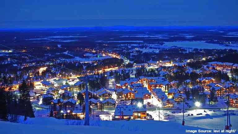 Inari, Finland this Christmas 2020
