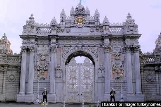 Dolmabahce Palace best place to visit in Istanbul Turkey