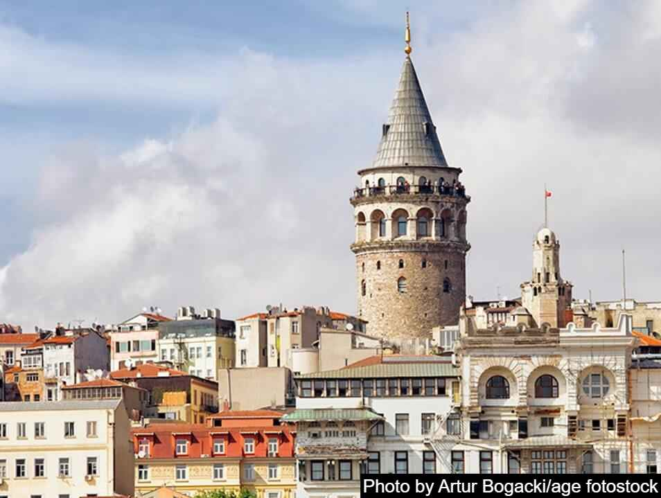 Galata Tower best place to visit in Istanbul Turkey