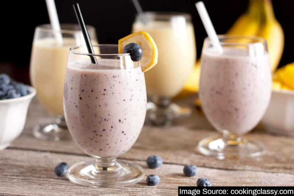 Healthy Smoothies are the best source to gain weight