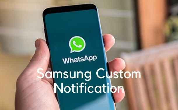 WhatsApp Custom Notification Per Contact