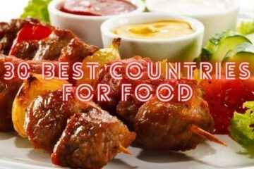 30 best countries for food