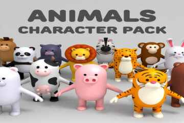 animal cartoon characters
