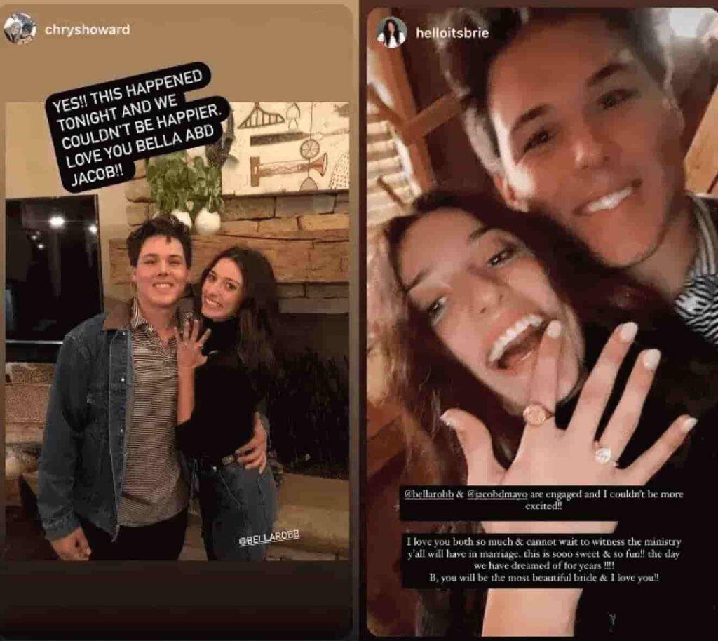 Bella Robertson Instagram story