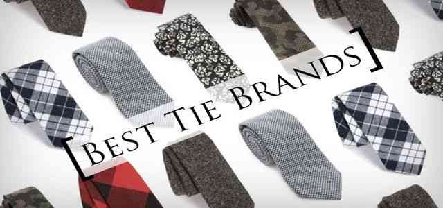 Best tie brands in the world