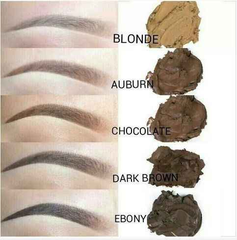 the best color for eyebrows