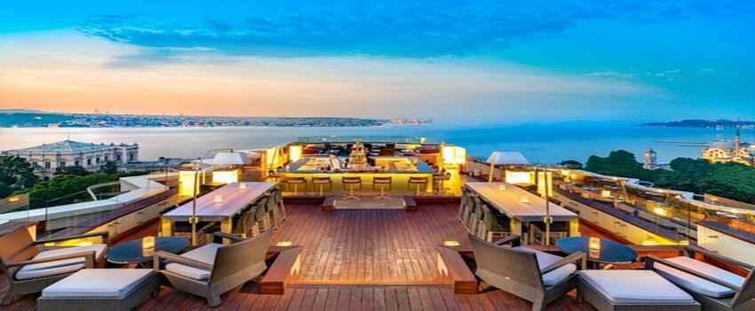 16 Roof Swisshotel Restaurant and Bar – in Besiktas
