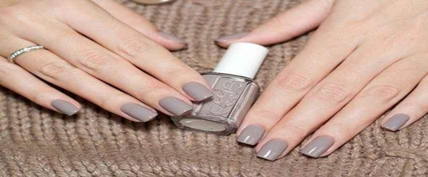 Gray Nail Paint
