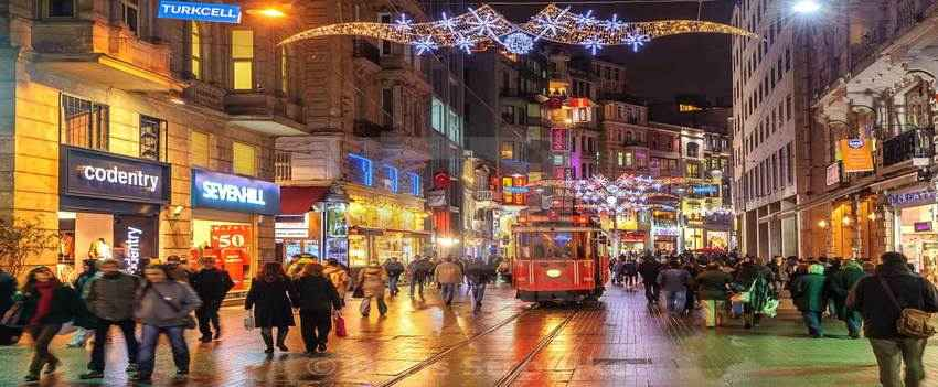 Istiklal Street & Taksim Square
