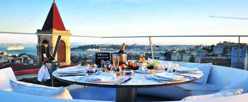 Top Best Rooftop Restaurants And Bars in Istanbul