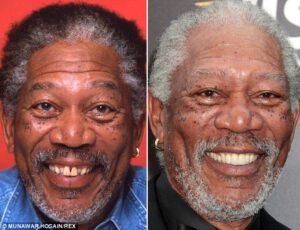 Fake Teeth Morgan Freeman